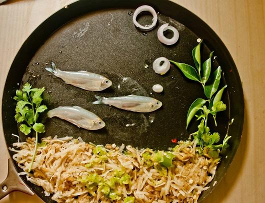 Quanto pesa il cibo che mettiamo nel piatto?