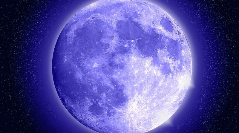 Luna blu a Pasqua